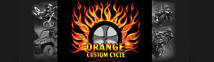 Orange Custom Cycle