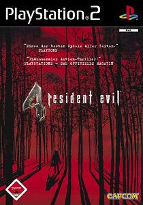 SONY PS2 Resident Evil 4 PlayStation 2 Horror Kult Schock Spiel Game OVP komplet
