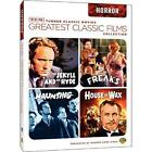 TCM Greatest Classic Films: Horror (DVD, 2009)