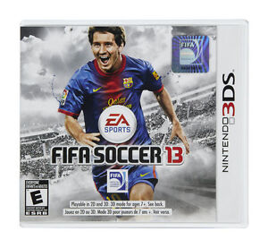 BRAND NEW FACTORY SEALED FIFA Soccer 13 - 2013 (Nintendo 3DS)