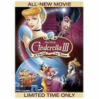 Cinderella III: A Twist in Time (DVD, 2007)