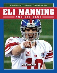 ELI-MANNING-BIG-BLUE-Football-Superbowl-MVP-NY-Giants-Collectible-Photos