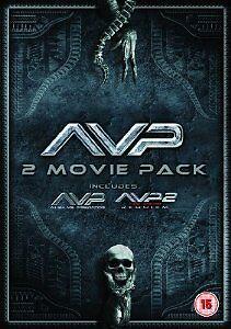 Alien Vs Predator/Aliens Vs Predator - Requiem (DVD, 2012, Box Set)