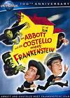 Abbott and Costello Meet Frankenstein (DVD, 2012, Canadian; Universal 100th Anniversary)