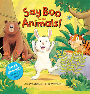 Say-Boo-to-the-Animals-Say-Hello-Whybrow-Ian-New-Book