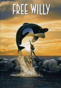 Free-Willy-DVD-New-Jason-James-Richter-Michael-Madsen-WS