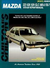 Mazda 323, 626, 929, GLC, MX-6, and RX-7, 1978-89 by Chilton Automotive...