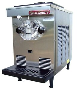 Used commercial ice cream machine