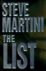 The-List-a-Novel-by-Steve-Martini-1997-Hardcover