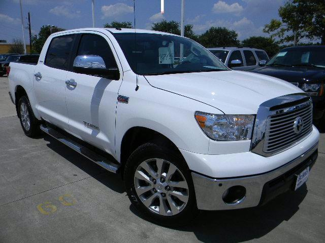 Gullo Ford Conroe Used Cars NO RESERVE 2012 TOYOTA TUNDRA LIMITED PLATINUM PACKAGE 8800 MILES ...