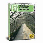 Top Tips On Traditional Gardening Techniques (DVD, 2006)