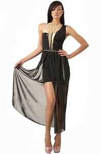1 shoulder cocktail dress xs