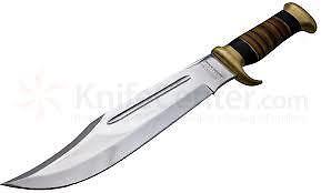 NEVER BLUNT KNIVES