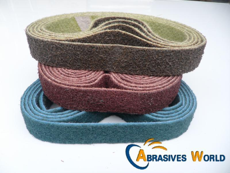 5pcs 530mm X 30mm Scotch Brite Non Woven Polishing Belts