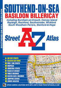 Southend on Sea Street Atlas by Geographers' A-Z Map Company (Paperback, 2012)