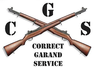 Correct Garand Service