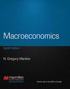 Macroeconomics by N. Gregory Mankiw (Paperback, 2012)