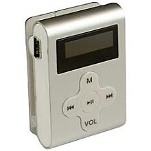 Eclipse CLD 4SL MP3 Player Silver 4GB  NEW