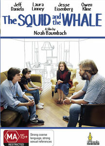 The Squid And The Whale - Jeff Daniels Laura Linney - New & Sealed Region 4 DVD