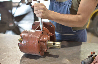 How To Change The Input Shaft On A Brush Hog Gearbox Ebay