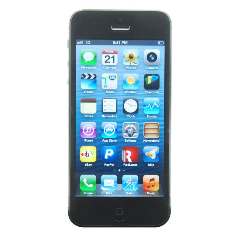 Apple  iPhone 5 - 16 GB - Black & Slate - Smartphone