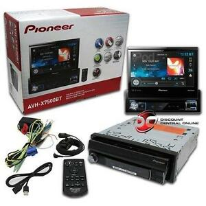 Pioneer-AVH-X7500BT-7-034-Touchscreen-Car-Monitor-DVD-CD-Receiver-New-AVHX7500BT