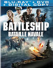 Battleship (Blu-ray/DVD, 2012, Canadian)