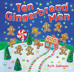 (Good)-Ten Gingerbread Men (Moulded Counting Books) (Hardcover)-Galloway, Ruth-1
