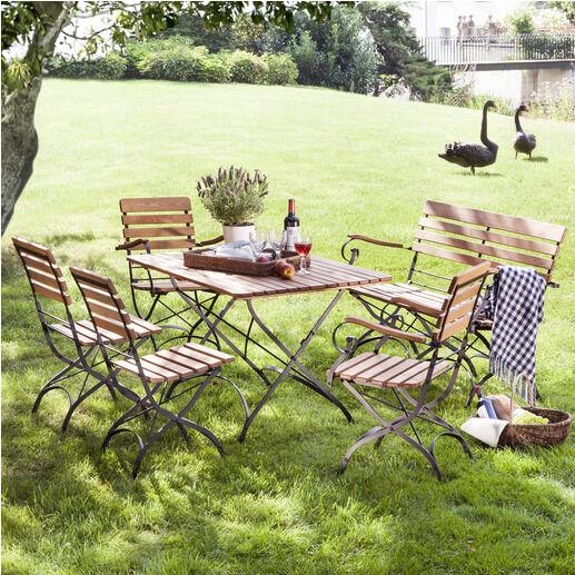 verschiedene m bel f r garten und terrasse eine kleine materialkunde ebay. Black Bedroom Furniture Sets. Home Design Ideas