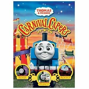 Thomas-amp-Friends-Carnival-Capers-DVD-2007-See-Rosie-Percy-amp-Rocky