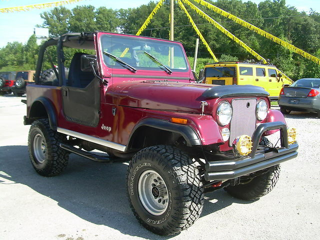 1978 jeep cj7 4x4 used jeep cj for sale in corbin kentucky. Black Bedroom Furniture Sets. Home Design Ideas