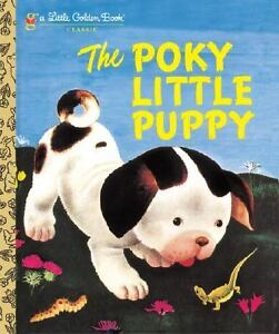 The-Poky-Little-Puppy-by-Janette-Sebring-Lowrey-a-Little-Golden-Book-Kids-Story