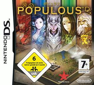 Populous DS (Nintendo DS, 2009) - Bremen, Deutschland - Populous DS (Nintendo DS, 2009) - Bremen, Deutschland