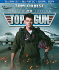 Top Gun (Blu-ray Disc, 2013, 2-Disc Set, Includes Digital Copy; UltraViolet; 2D/3D)
