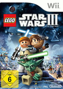 LEGO Star Wars III: The Clone Wars -- Pyramide Software (Nintendo Wii, 2013, DV…