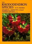 The Rhododendron Species, H. H. Davidian, 0881921688