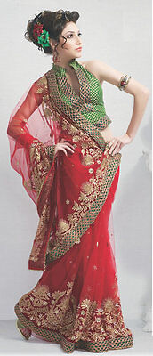 How to wear drape bollywood style saree sari