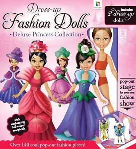 Deluxe Princess Collection (Dress Up Dolls), Hinkler Books PTY Ltd | Hardcover B