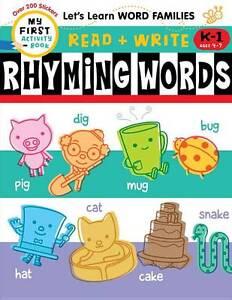 HARRIET ZIEFERT-READ + WRITE: RHYMING WORDS BOOK NEW