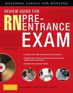 Review Guide for RN Pre Entrance Exam by National League for Nursing (2008, P...