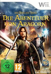 Der Herr der Ringe Die Abenteuer von Aragorn (Nintendo Wii) Neuwertig