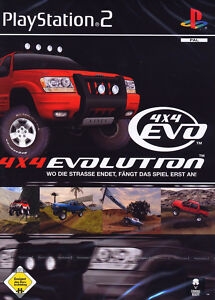 4x4 Evolution (Sony PlayStation 2, 2001, DVD-Box) - <span itemprop='availableAtOrFrom'>Mömbris, Deutschland</span> - 4x4 Evolution (Sony PlayStation 2, 2001, DVD-Box) - Mömbris, Deutschland