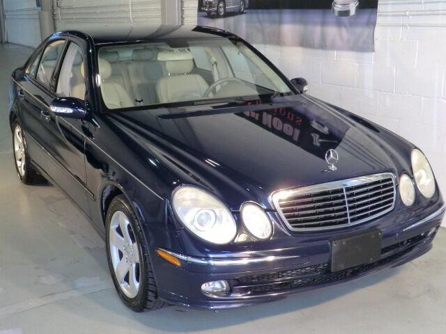 2005 mercedes benz e500 e 500 v8 dohc 5 0 german for Mercedes benz v8 sedan