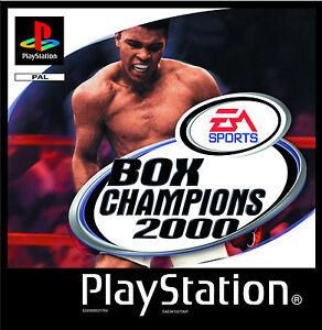 Box Champions 2000 (Sony PlayStation 1, 1999) - Scheiben wie neu
