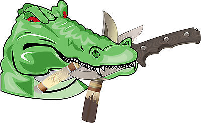 Gator Knife & Axe