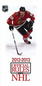 2012-2013-Official-Rules-of-the-NHL-by-National-Hockey-League