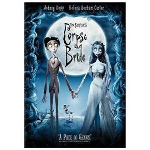 The Corpse Bride Full Screen Edition DVD (Tim Burton, Johnny Depp)