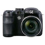 GE POWER Pro series X550 16.1 MP Digital Camera - Black