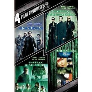 The Matrix Collection: 4 Film Favorites DVD