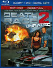 Death Race 2 (Blu-ray/DVD, 2011, 2-Disc Set, Rated/Unrated)